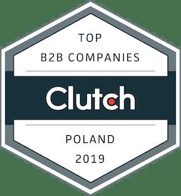 Clutch Top B2B Companies 2019