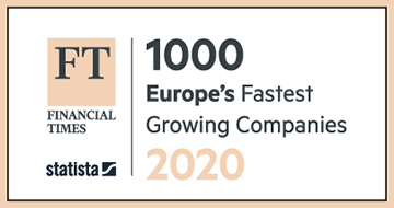 Financial Times ranking of 1000 fastest-growing companies in Europe