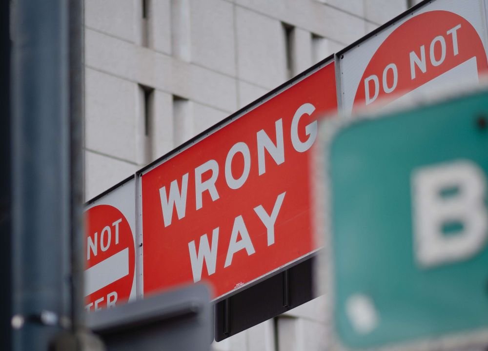 wrong way - when a product requirement is not worth implementing